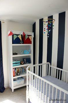 Cute small nursery room ..