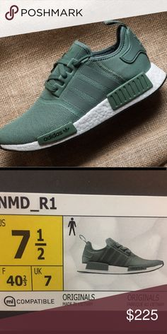 76c9e84d94204b Adidas nmd 7.5 Trace green adidas nmd adidas Shoes Athletic Shoes Adidas Nmd