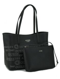 Shopper Guess Vikky Black Schwarz 2in1