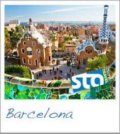 My overall favorite place in the world. Barcelona, Spain con el Catala y Castellano!
