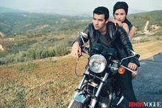 Demi Lovato and Joe Jonas Teen Vogue August 2010