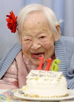 Meet 5 women born in the 1800's who are still going strong. >>> What an amazing article!!