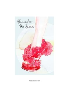 Refinery29 Shops: Samantha Hahn-Grouped Product-Limited Edition Print...Alexander McQueen Shoe