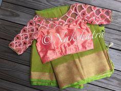 Nakshatra Design Studio By Sushmita. Simple Blouse Designs, Saree Blouse Neck Designs, Stylish Blouse Design, Zucchini Cordon Bleu, Designer Blouse Patterns, Workout, Design Studios, Fancy Sarees, Anarkali Dress