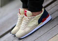 Saucony Shadow Original - Cream - Navy - Red - SneakerNews.com