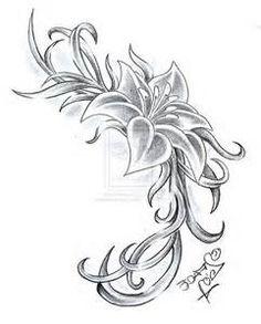 gladiolus flower tattoo - Bing Images
