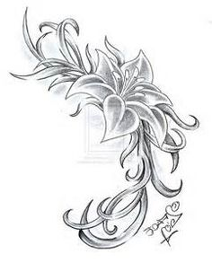 gladiolus flower tattoo - Bing Images