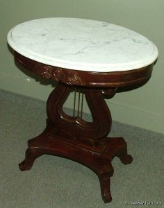 SOLD     $365.00   6298: This Is A Beautiful Vintage Marble