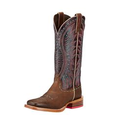 Impeccably crafted in premium leather and enhanced with advanced comfort features, these Western boots will have you feeling as good as  you loo...