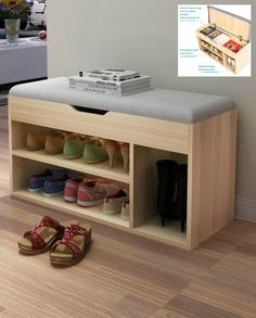 Stools & Ottomans Living Room Furniture Home Furniture fabric+ wood stool tabouret bois minimalist sgabello shoes rack multisize – Top Trend – Decor – Life Style Shoe Storage Stool, Shoe Storage Cabinet, Bench With Storage, Hidden Storage, Cube Storage, Storage Benches, Wooden Shoe Storage, Storage For Shoes, Build Shoe Storage