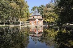 La Casita del Pescador, Parque de el Retiro, Madrid, Spain