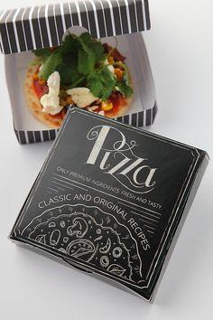 Design Pizza Box | Pizza boxes, Print templates and Font logo