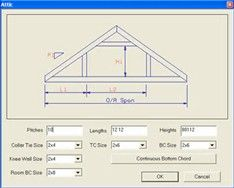 High Resolution Attic Trusses #7 Room In Attic Trusses Dimensions  sc 1 st  Pinterest & New 24u0027x34u0027 Detached Garage with Attic Trusses - Page 2 - The Garage ...