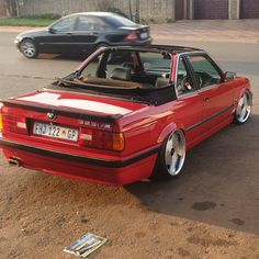 Terence baur cabriolet with air suspension Bmw E30, Cars, Classic, Vehicles, Derby, Autos, Car, Car, Classic Books
