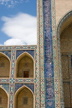 Ulughbek (Ulugh Beg) Medressa, Bukhara (Buxoro, Бухоро, بُخارا), Uzbekistan (O'zbekiston, Ўзбекистон) by Loïc BROHARD, via Flickr