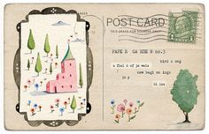 vintage postcard!