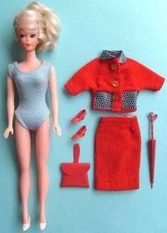 Vintage Barbie Clone Dolls & Accessories on Pinterest | Vintage ...