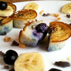 Paleo Live Right Be Healthy: Simple Blueberry Banana Egg Muffins