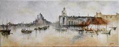 https://flic.kr/p/9gXvxd | www.academiataure.com |  #art #painting #oil #impressionism #light #Venice