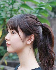 I love you ten Ponytail Girl, Ponytail Hairstyles, Girl Face, Woman Face, Japan Girl, Beautiful Morning, Asian Woman, Asian Beauty, Cute Girls