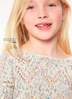 Lola from Sugar Kids for Pepe Jeans.