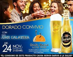 Este jueves nos vemos en @santamonicalf con @cervezadoradadraft 9PM todos a Sacudir los Huesos! #Doradoconvivio