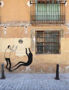 Street Art by Escif #graffiti