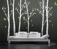 Free Owl Decal - THE ORIGINAL Tree Wall decal Wall sticker  - Birds in the Urban Forest tree decal - dd1014