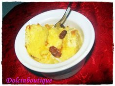 Mini bread and butter pudding | Dolci in Boutique
