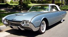 1962 Thunderbird Convertible***Research for possible future project. (my first car - wish I had it back...)