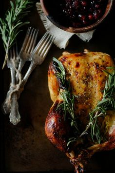Rosemary Roast Turkey.
