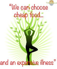 Cheap food or healthy nutrition!
