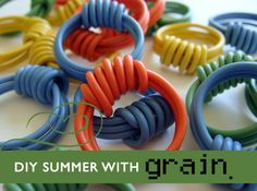 Upcycle Old Electrical Wire into Grain's Hand-Knotted Ring (DIY Tutorial)