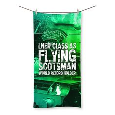 The Flying Scotsman Beach Towel