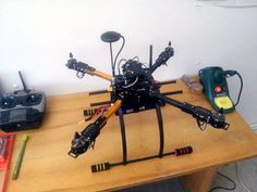 Build a HK Quadcopter for GoPro Style Video and Photography Gopro Drone, New Drone, Drone Quadcopter, Drone Diy, Build Your Own Drone, Rc Drone With Camera, Remote Control Drone, Drone For Sale, Best Camera