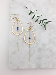 10317 - Boucles d'oreilles Maria Lapis-Lazuli