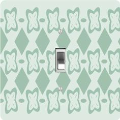 """Rikki KnightTM Mint Green Flower Square - Single Toggle Light Switch Cover by Rikki Knight. $13.99. The Mint Green Flower Square single toggle light switch cover is made of commercial vibrant quality masonite Hardboard that is cut into 5"""" Square with 1'8"""" thick material. The Beautiful Art Photo Reproduction is printed directly into the switch plate and not decoupaged which make these Light Switch Plates suitable for use in any room in the office, home, etc. etc.. These Light Swit..."""