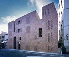 Perforated Brick Architecture : Love Architecture