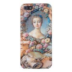Madame de Pompadour François Boucher rococo lady iPhone 5/5S Cases #madame #pompadour #pastel #portrait #boucher #Paris #France #classic #art #custom #gift #lady #woman #girl