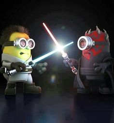 """Minions # Star Wars # """" I am your father """""""