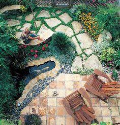 Joys of a Small Garden - MyHomeIdeas.com