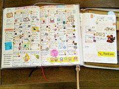 SAYAさんのジブン手帳とほぼ日手帳