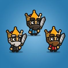 Tiny Style Character - King