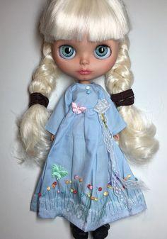 Custom Blythe Doll OOAK named Ehvie  by EmmyB.lythe by EmmyBlythe