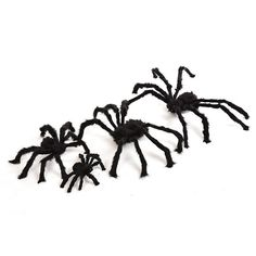 Large Spooky Plush Spider Decoration For Halloween- 3 hUGE Sizes to choose from!