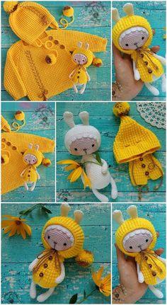 Free Amigurumi Doll And Animal Crochet Patterns