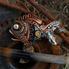 Кулоны, подвески ручной работы. Ярмарка Мастеров - ручная работа Bionic fish. Handmade.