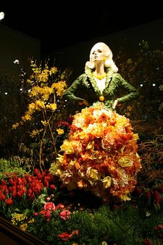 Macy's Flower Show Windows 2008 - NYC
