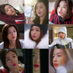 Cheon Song Yi's lipgloss collage