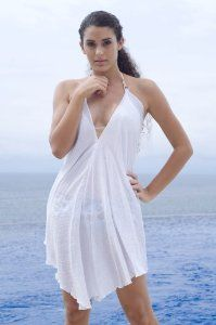 Alki'i Misses Halter Top Beach Dress